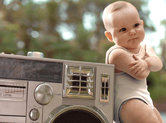 Baby dancer a soli… 5 mesi di vita!